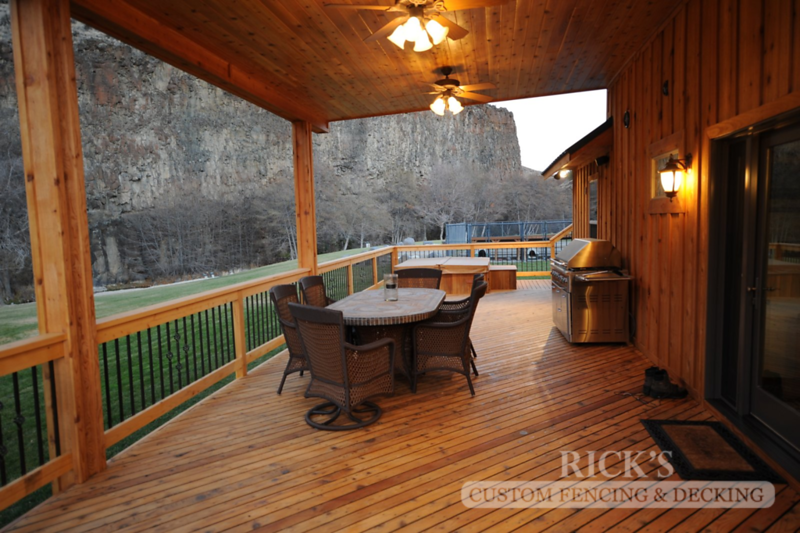 5108 - Wood-Framed Patio Cover