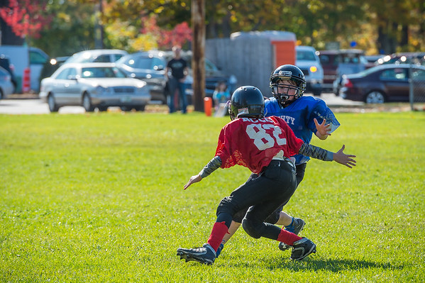 2017 Screaming Eagles vs. Patriots Stateline Youth Football