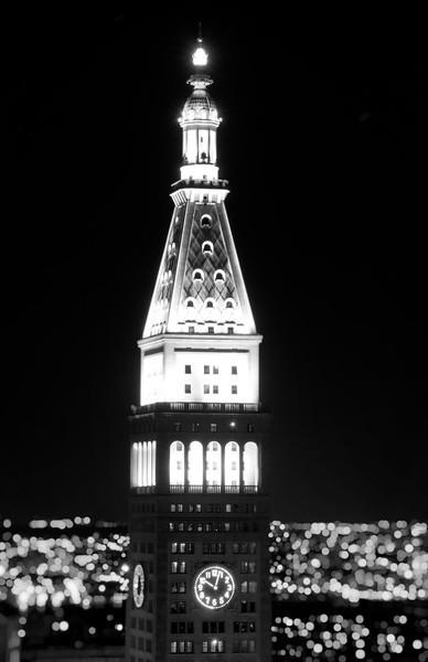 Tower at Night, Black and White.jpg