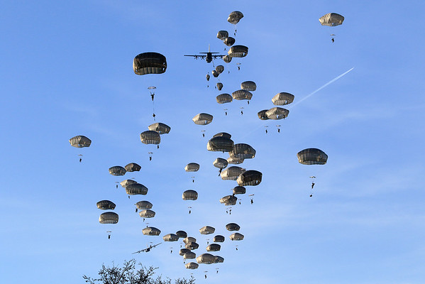 173rd  Airborne Brigade - 2-503 The Rock - - - -  Exercise Rock Topside II