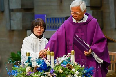 Nov 29, 2015 - 945am Mass by Fr. Denis Sevilla