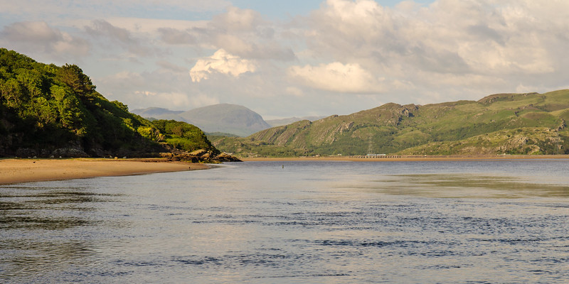 Dwyryd estuary in Snowdonia