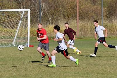 US Boys Soccer JV vs SGS Alumni 10-20-18