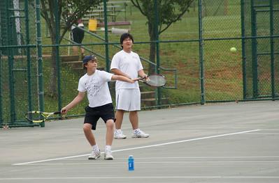 Boys JV Tennis May 2009