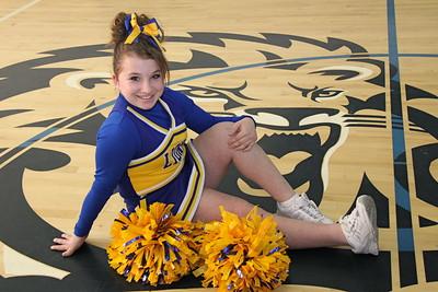 Chestnut Ridge Junior High Cheerleading