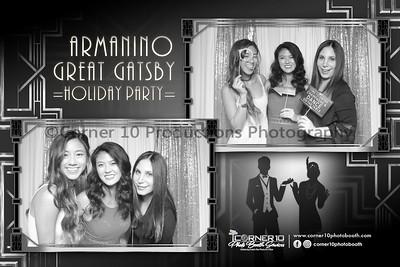 Armanino Great Gatsby Themed Holiday Party