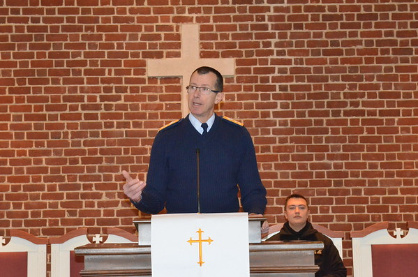 Rear Admiral Burhoe's New Year Address to the Corps