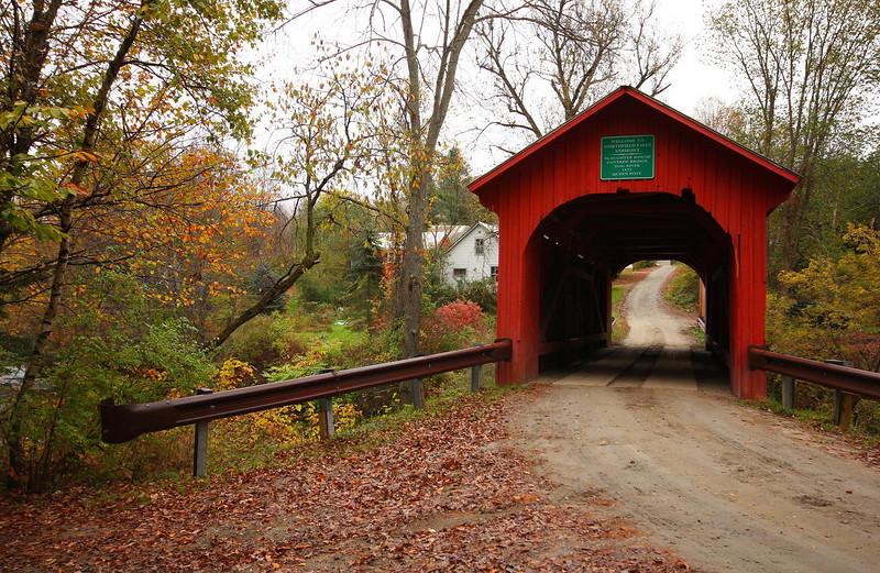 Slaughterhouse Bridge, looking east.