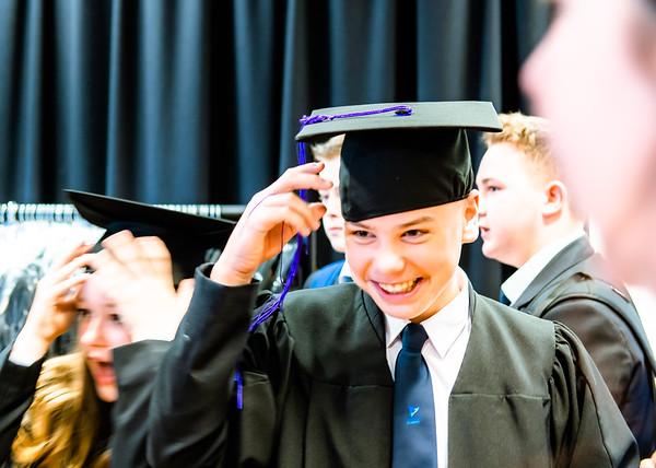 Freebrough Academy Y8 Graduation