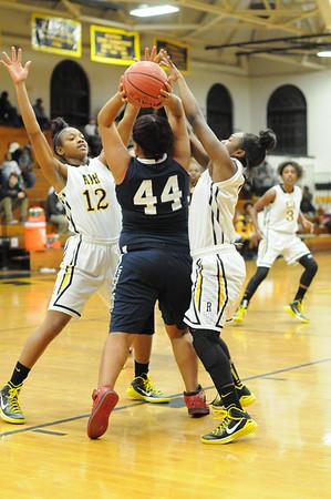 RJR HS Girls Basketball vs High Point Central