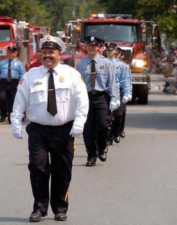 Bennington Battle Day Parade