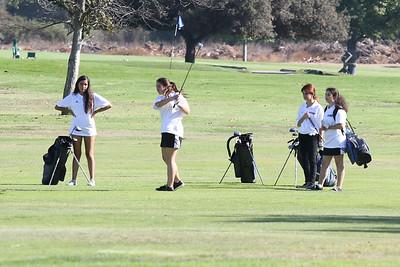 Girls Golf 9/8