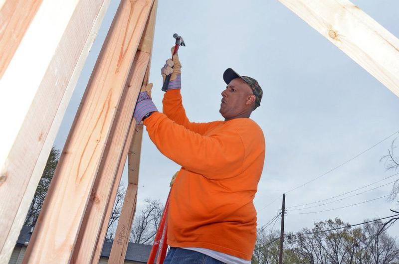 Veteran homeowner partner Cliff Malone.