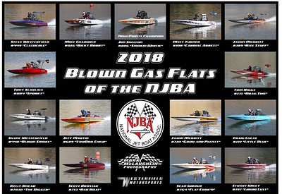 BLOWN GAS FLAT POSTER 2018