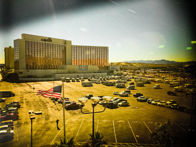 Our hotel viewed from Don Laughlin's
