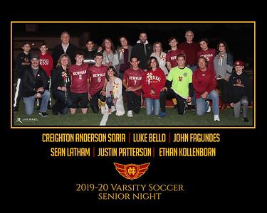 Senior Night Men's Soccer