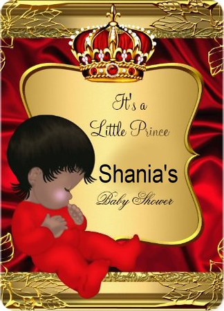 *SHANIA'S*  It's a Prince Baby Shower