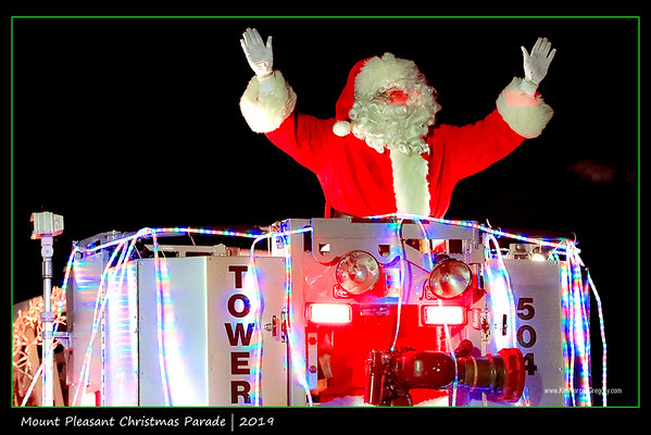 MOUNT PLEASANT CHRISTMAS LIGHT PARADE 2019