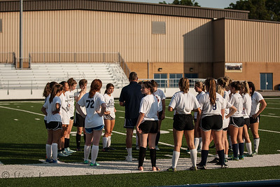 2018 PHS Girls Soccer Blue White Game