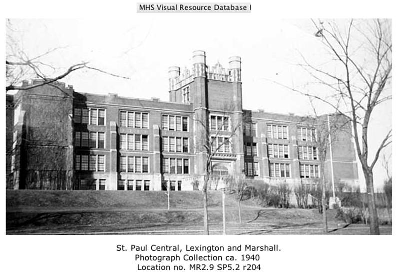 St. Paul Central High, 1940.jpg