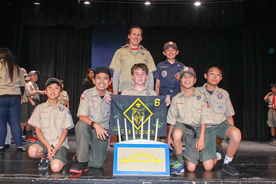 Young Scouts Earn the Coveted Arrow of Light