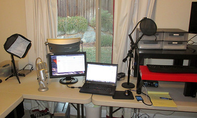 Doug's Office and Stand-up Desk