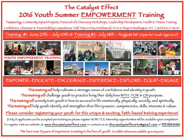TCE 2016 Summer Trainining Flyer.jpg