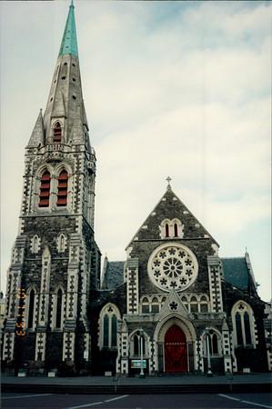 Mt. Cook & Christchurch, NZ