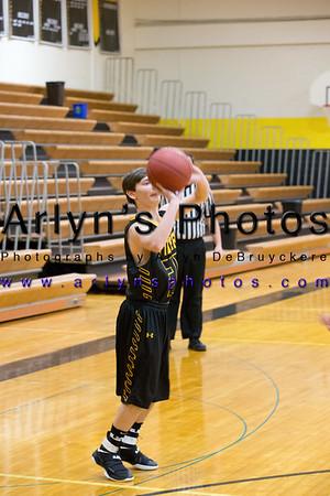Hutch Boys Basketball vs Litchfield