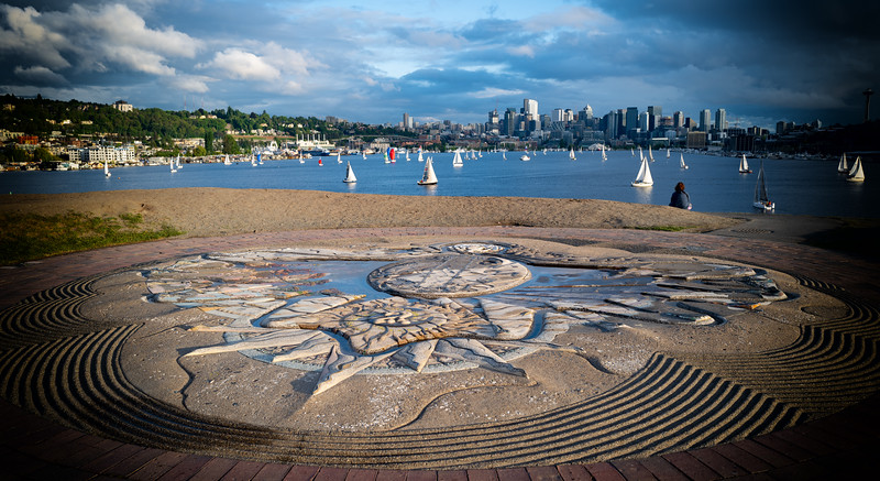 Sundial at Gas Works Park, Seattle