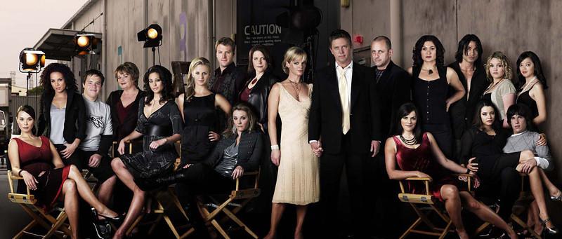 tv cast shoots