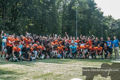 Selectietrainingskamp Dutch Lions