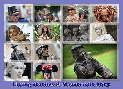 Living statues @ Maastricht 26/07/2015