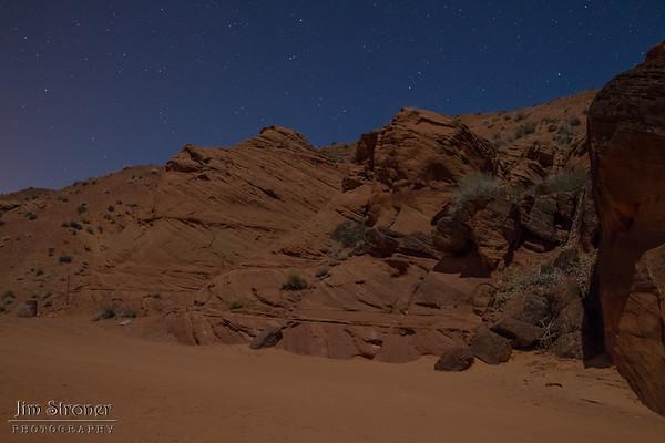 Antelope Canyon - night