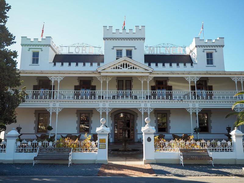 Old hotel in Matjesfontein
