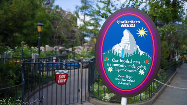 Disneyland Resort, Disneyland, Fantasyland, Matterhorn, Bobsleds