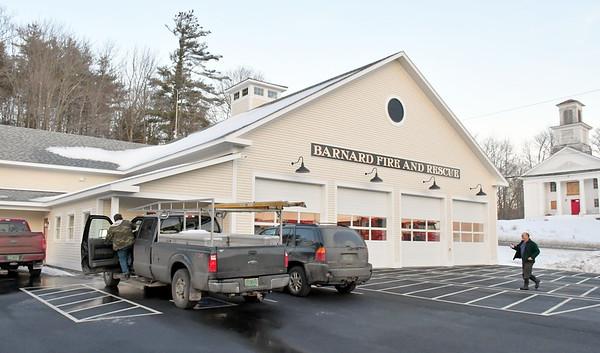 Barnard Fire Station Open House 012518