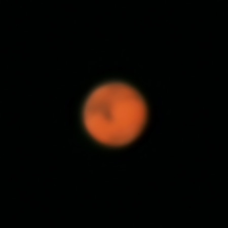 Mars - 1/6/2016 (Processed cropped stack)