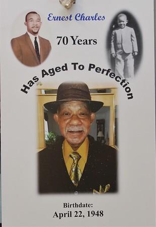 Ernest Charles 70th
