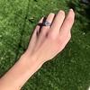 1.11ct Old European Cut Diamond Filigree Ring 7