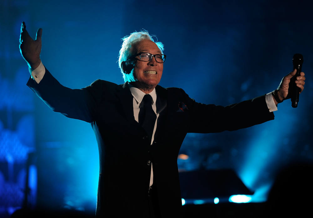 . Singer/Songwriter Andy Williams.  (Photo by Larry Busacca/Getty Images for  Songwriters Hall of Fame)