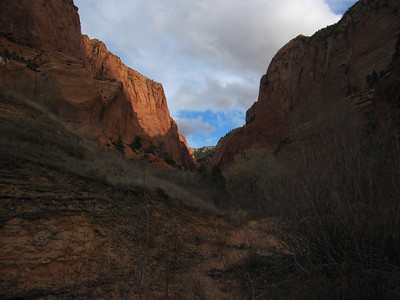 South Fork, Kolob Canyon, Zion N.P. UT - 11/18/2012