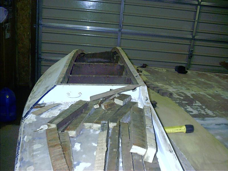 Rear view of starboard sponson.
