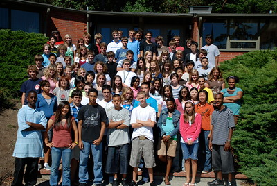 Freshman Class Group Photo