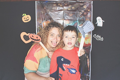 9-25-21 Blairsville Woodruff Scout Camp Photo Booth - Spooky-Ree - Robot Booth
