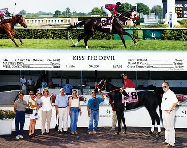 KISS THE DEVIL - 6/14/2001
