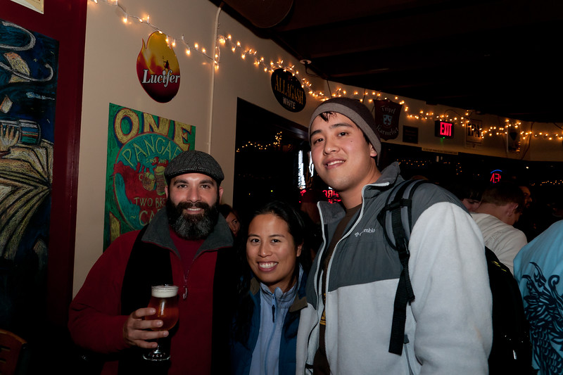 If anyone care what a beer week photographer looks like, im on the right.