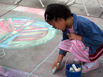 CHALK4PEACE 2008 All Saints Church, Pasadena, CA