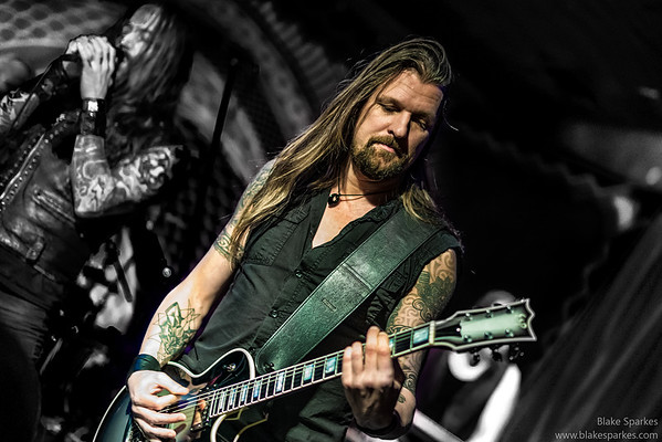 Amorphis live @ Ace of Cups, 2017