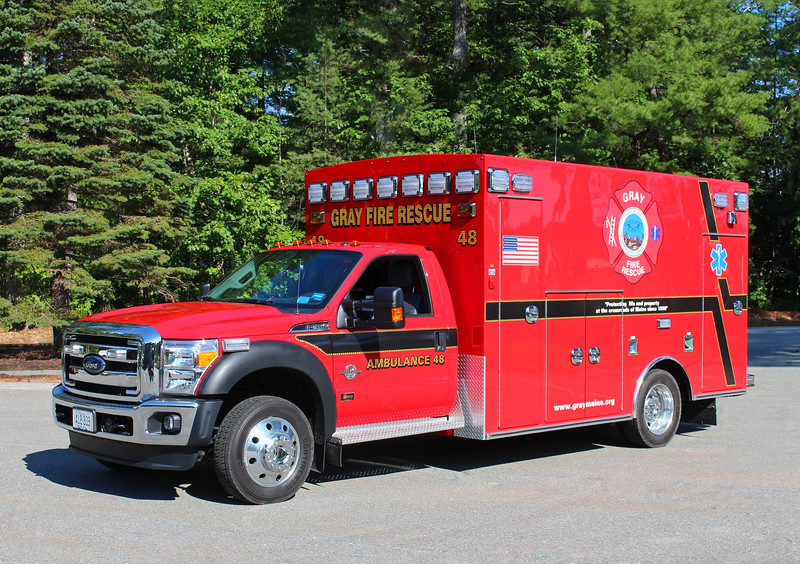 Ambulance 48   2016 Ford F-450 / Braun